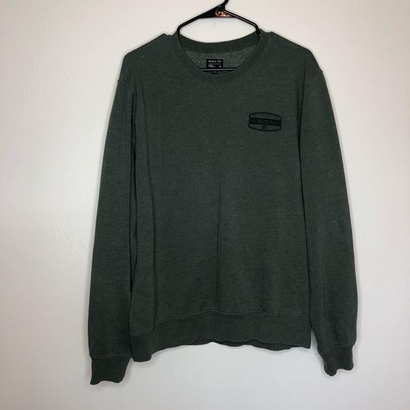 RVCA Other - Men's RVCA green sweatshirt